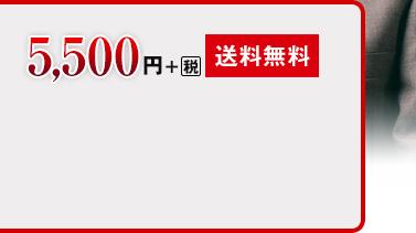 5,500円+税[送料無料]